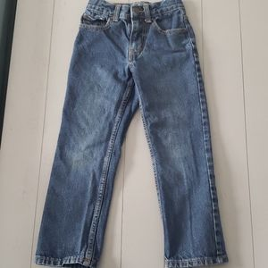 Boys size 6 cat and Jack relaxed straight jeans